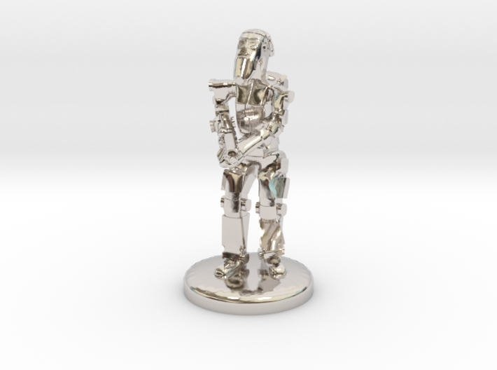 Battle Droid 20mm scale (25mm tall) 3d printed