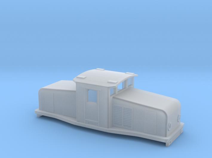 Swedish SJ electric locomotive type Ub - N-scale 3d printed