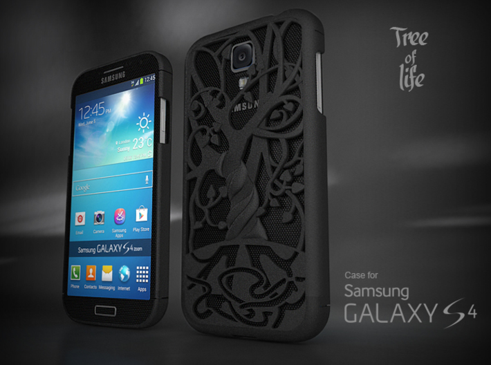 "Samsung Galaxy S4 case ""Tree of life"" 3d printed"