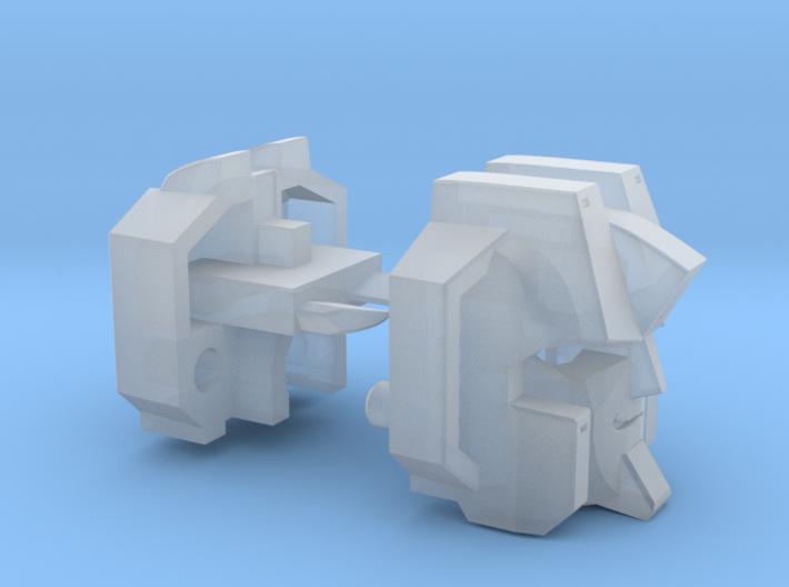 Screamer Head Combiner Version 3d printed