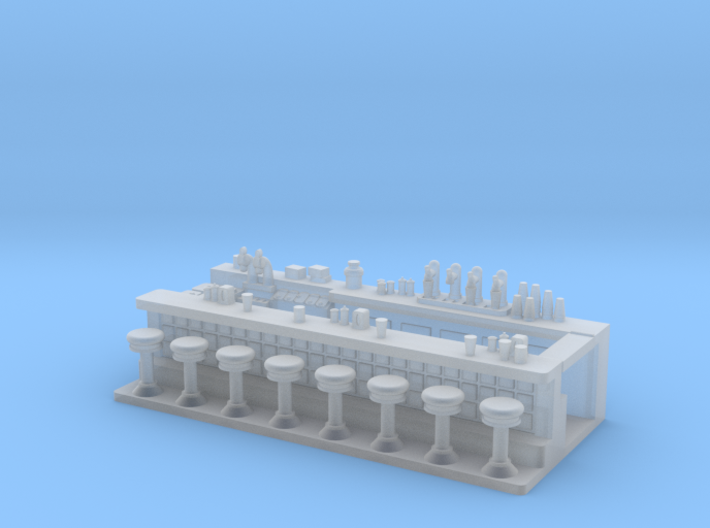 Soda Fountain Super Detailed S Scale 3d printed
