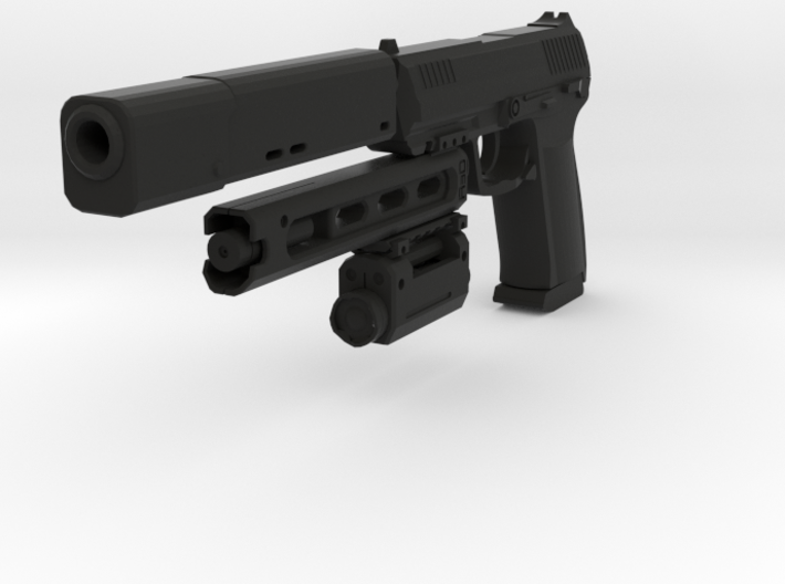 Psycho Pistol 3d printed