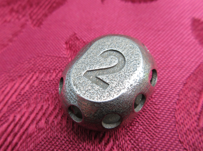 Two-sided 'pepperpot' die 3d printed