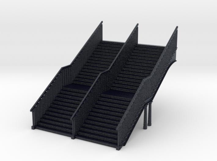 N Gauge Station Stairs 3d printed