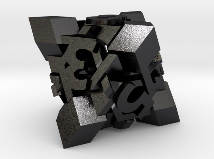 Intangle Die8 3d printed
