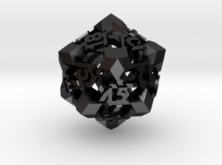 Intangle d20 3d printed