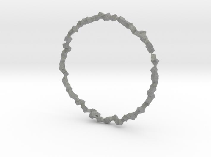 Bracelet of Cubes No.1 3d printed