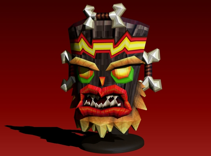 Uka Uka - Crash Twinsanity - 50mm 3d printed
