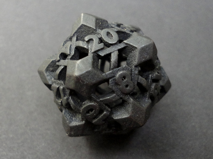 Intangle Die20 3d printed