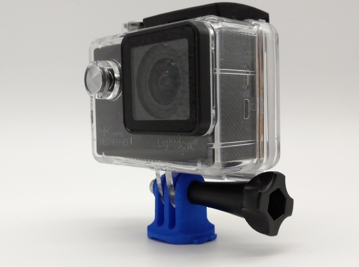 GoPro Triple Mount For Garmin Quarter Turn 3d printed