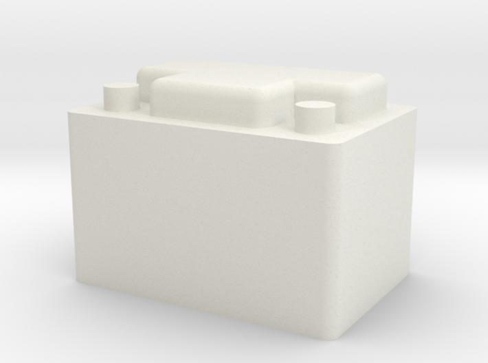 Car Battery 3d printed