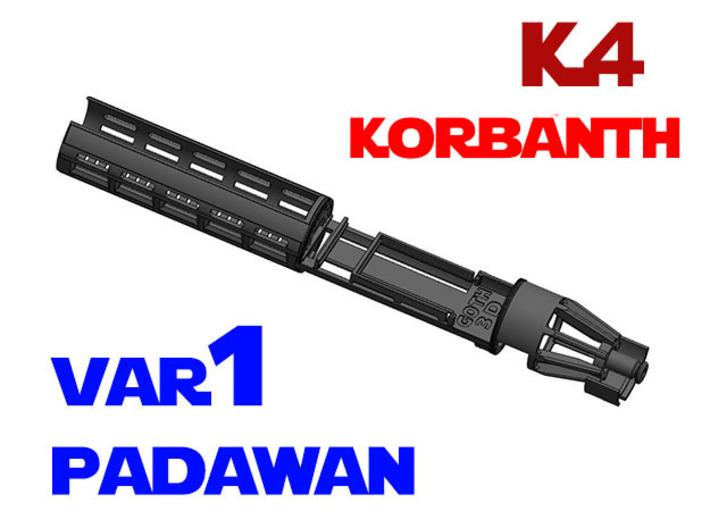 Korbanth / Parks K4 - Padawan All.In.One Var1 3d printed