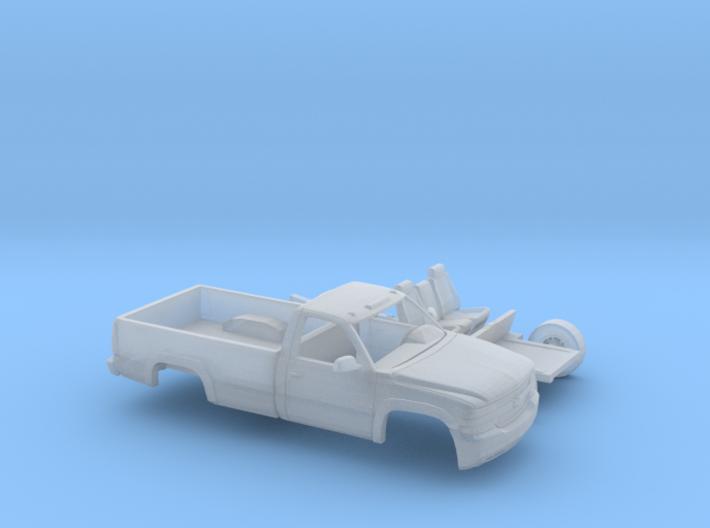 1/87 1999-02 Chevy Silverado 2500 RegCab LongBed K 3d printed