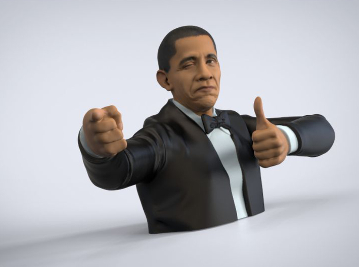 Obama Approves! 3d printed