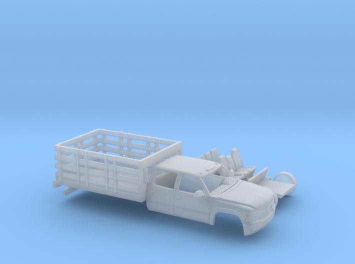 1/160 1999-02 Chevy Silverado CrewCab Stakebed Kit 3d printed