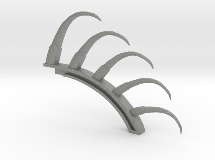 Sonics spine 3d printed