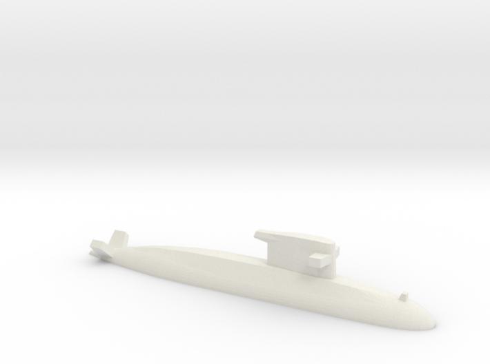 Walrus-class submarine, 1/1800 3d printed