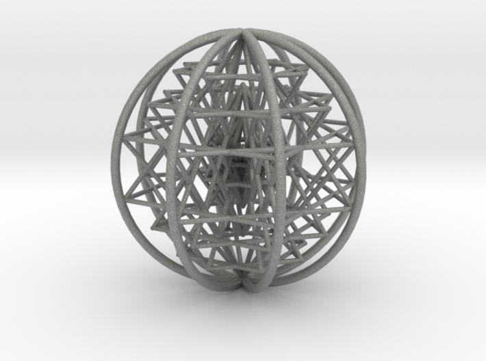 3D Sri Yantra 8 Sided Symmetrical Large 3d printed