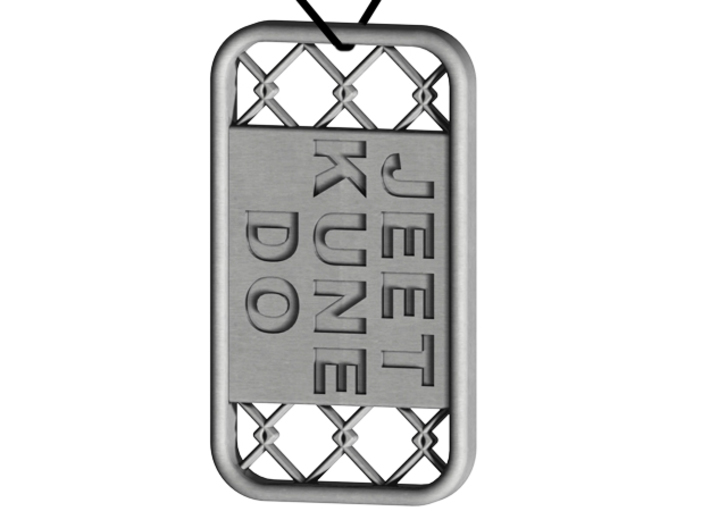 Jeet Kune Do Dog Tag 3d printed