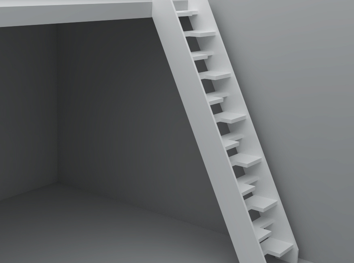 Dollhouse Lapeyre Stair 3d Printed