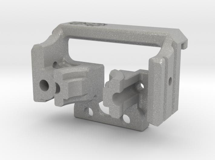 HD modular e3D V6 volcano mount body Aluminium 3d printed