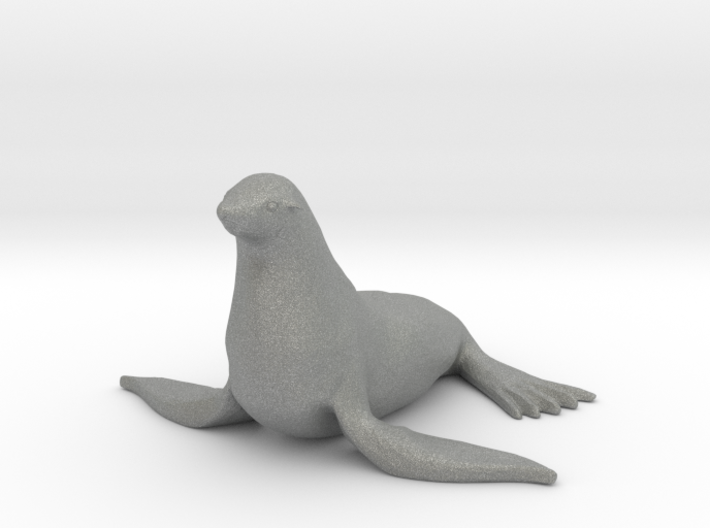 O Scale Seal 3d printed This is a render not a picture