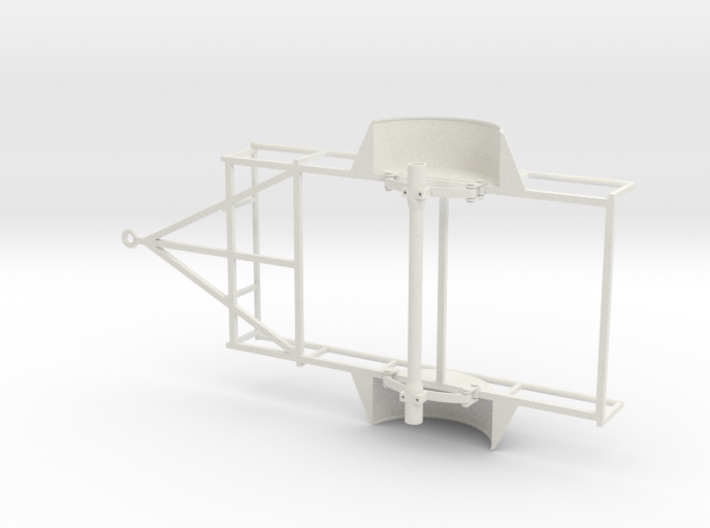 1/10 SCALE UTILITY TRAILER FRAME 3d printed