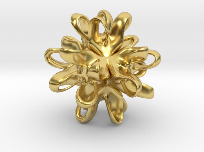 Linking Integral pendant 3d printed