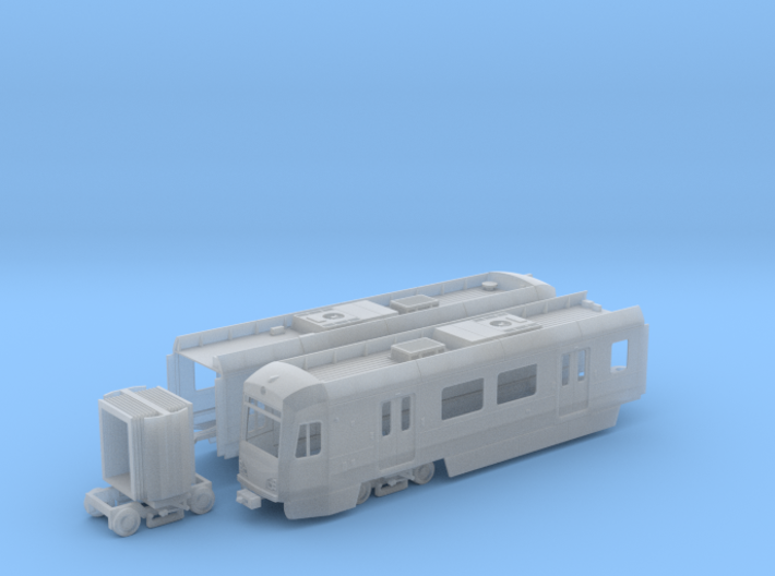 HO Scale LA Metro P3010 Display Model 3d printed