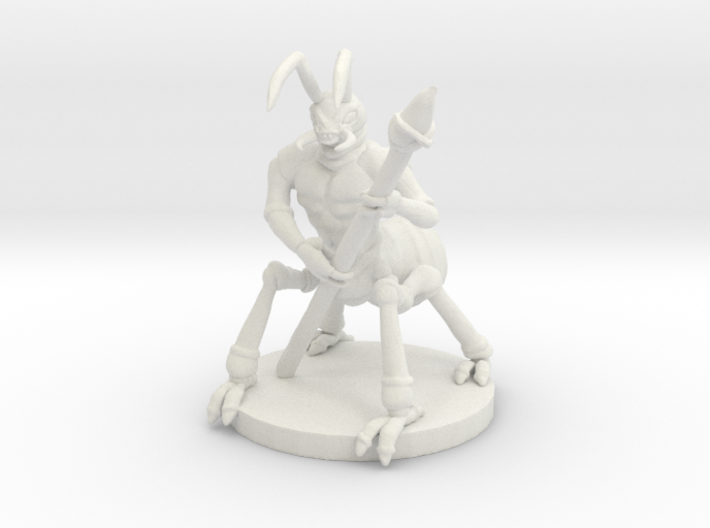 Manant: Warrior (medium Manant) 3d printed