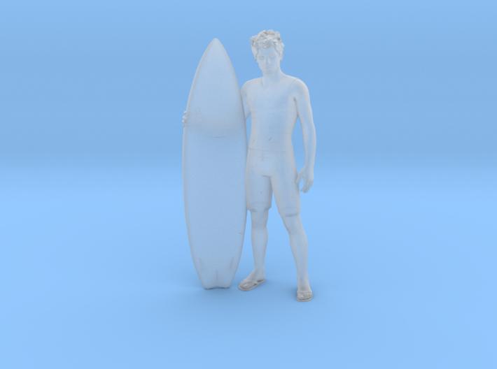 Surfer Dude Shaun 3d printed