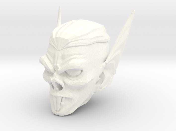 vampire head 3 3d printed