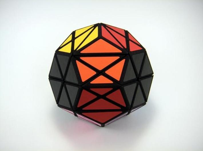 Jumball Puzzle 3d printed Solved