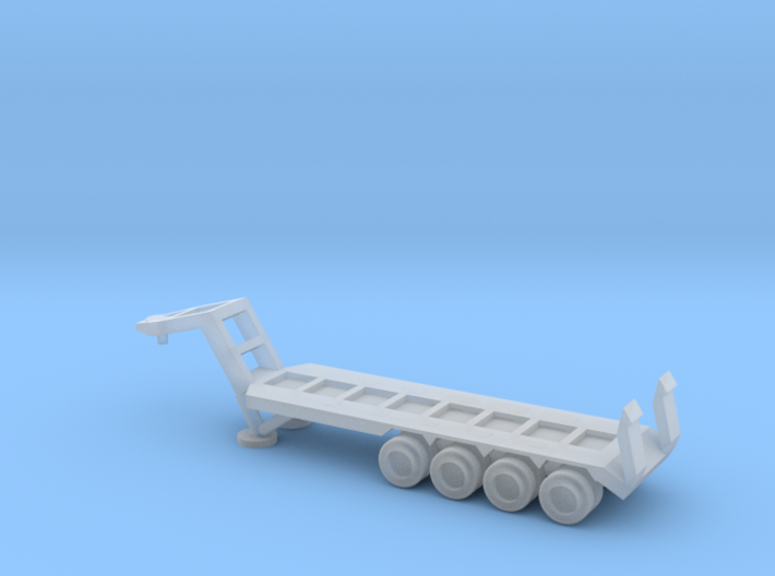1/220 Scale M747 Semitrailer Low Bed 3d printed