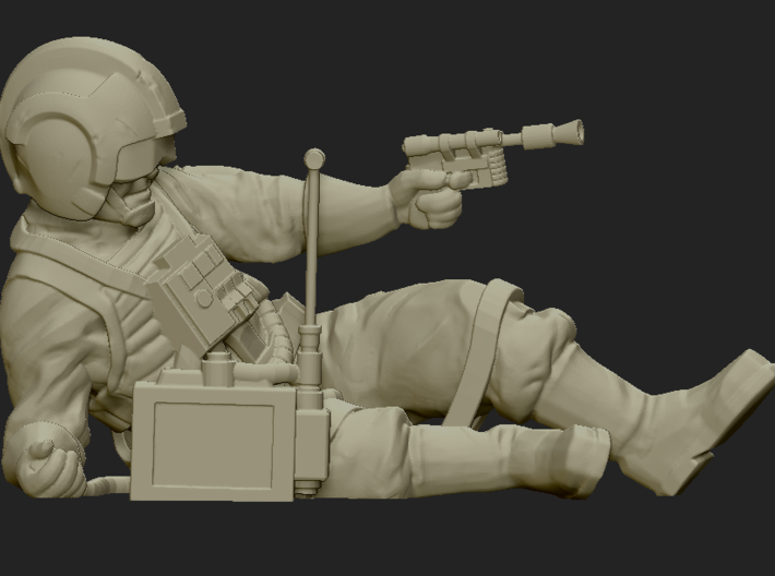 Downed Pilot Objective  3d printed