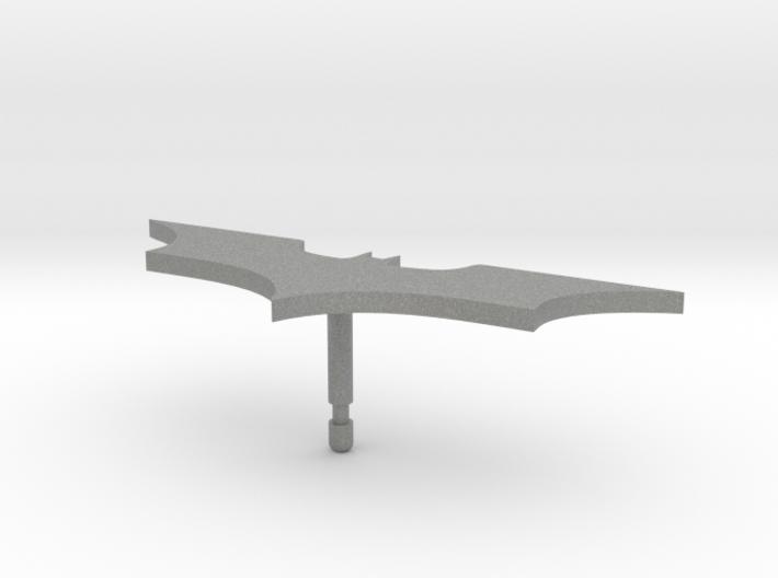 Batman Lapel Pin 3d printed