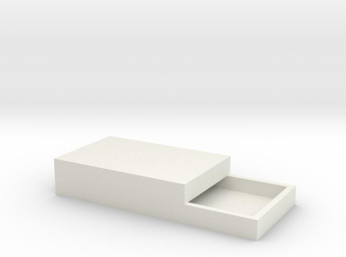 15x11mm Speaker Resonance Box - Triple Width 3d printed