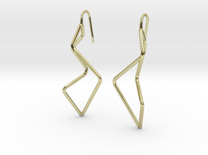 A-LINE Enmotion, Earrings 3d printed