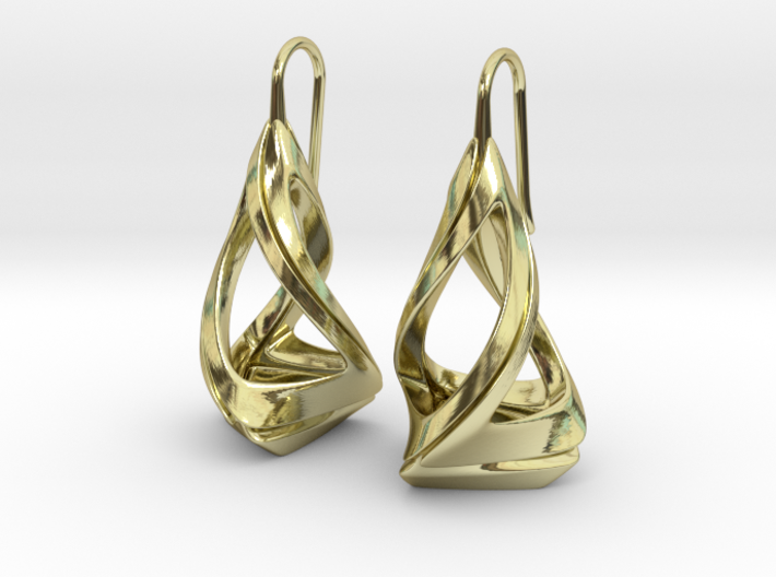 Trianon T.1, Earrings 3d printed