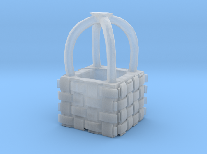HO Scale Hot Air Balloon Basket 3d printed This is a render not a picture