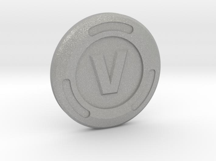 V-Buck Luck Charm 3d printed