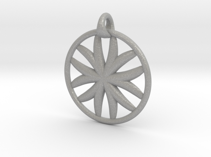 Flower of Life pendant type 1 3d printed