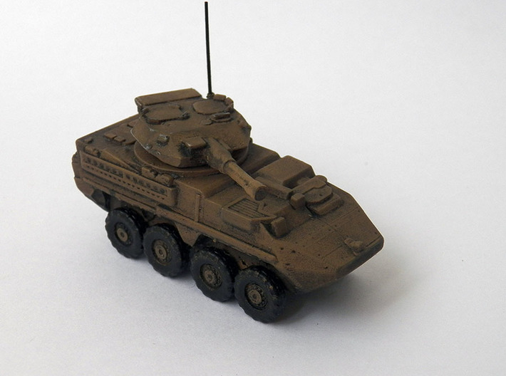 Stryker Dragoon 30 mm RWS esc: 1/144 3d printed Stryker Dragoon 30 mm RWS painted