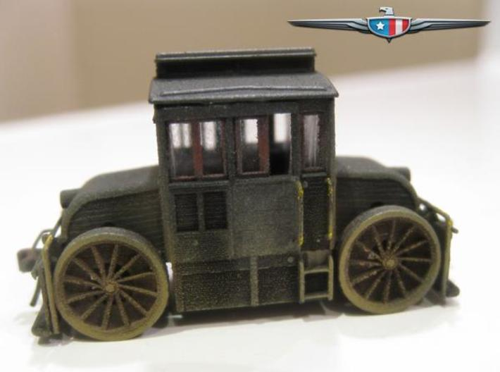 N Scale (1:160) PRR Electric Switcher 3d printed Painted model, finished following instructions (see description below).