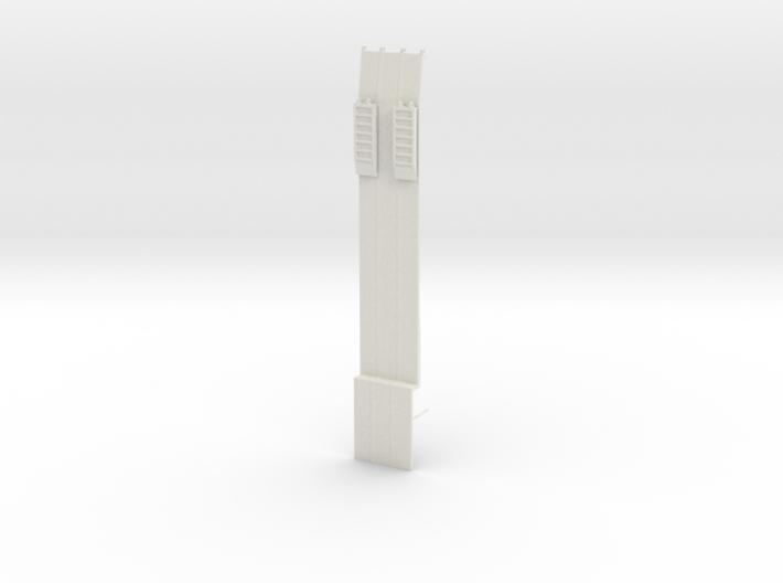 000476 Low Loader HO 3d printed