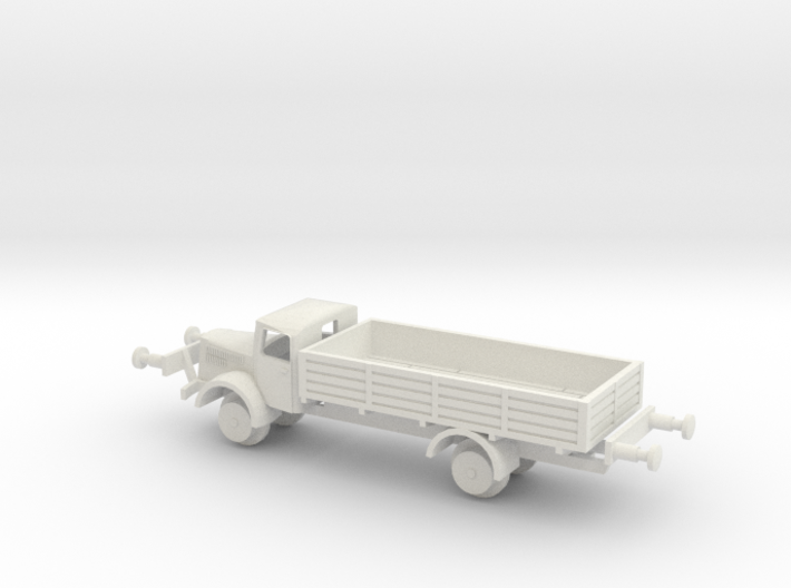 1/144 Mercedes MB 4500 S train version 3d printed