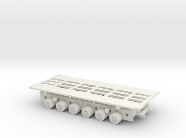 1/144 Culemeyer tank transporter for heavy tanks 3d printed