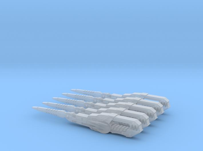 Ranger Stick (5 swords) 3d printed