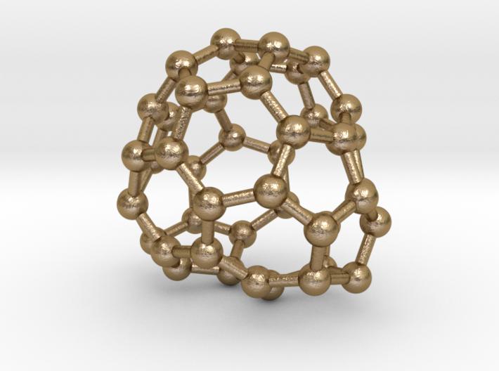 0689 Fullerene c44-61 c1 3d printed