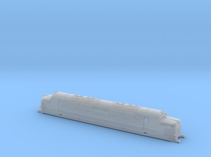 DP1 Deltic Prototype - Z - 1220 3d printed
